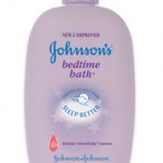 Johnson&#8217;s Bedtime Bath and Lotion