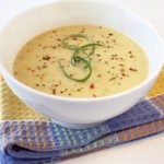 Creamy Potato Leek Soup!